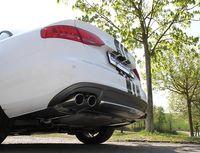 EISENMANN Duplex Racing Komplettanlage Audi A4 Typ B8 8K Lim. Avant Bj. ab 08 1.8TFSI und A5 Typ B8 8T Coupe Bj. ab 07 1.8TFSI - 2x90x70mm oval rechts links Bild 2