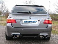 EISENMANN Duplex Racing Sportauspuff BMW M5 (E61) Touring 5.0l je - 2x83mm