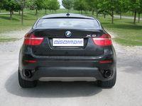 EISENMANN Duplex Racing Komplettanlage BMW X6 (E71) Bj. ab 04/2010 3.0l je - 1x120mm links/rechts
