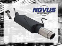 NOVUS Sportauspuff Opel Astra G Caravan G/T98 1.2  1.4  1.6  1.8  2.0 16V  1.7D  2.0D 74kW - 1 x 90mm GP-Design