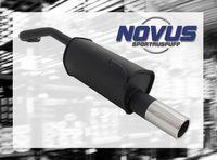 NOVUS Sportauspuff VW Lupo 6X 1.0  1.1  1.4  1.7D - 1 x 90mm