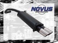 NOVUS Sportauspuff Skoda Fabia 6Y2 1.2  1.4  1.4 TDI - 2 x 76mm MS-Design
