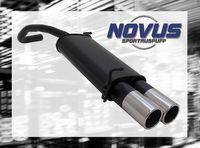 NOVUS Sportauspuff Skoda Fabia 6Y2 1.2  1.4  1.4 TDI - 2 x 90mm