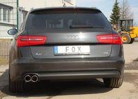 FOX Sportauspuff Audi A6 4G Limousine Avant 2.0TDI ab 11 - 2x90mm Typ 16 Bild 3