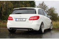 FOX Duplex Sportauspuff Mercedes B-Klasse 246 1.6l 2.0l ab 11 - 1x140x90mm Typ 32 rechts links