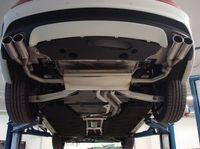 FOX Duplex Sportauspuff Mercedes CLA C117 1.6l 2.0l ab 13 - 2x80mm Typ 12 rechts links Bild 4