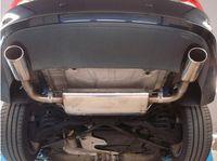 FOX Duplex Sportauspuff Volvo C70 2 Cabrio 2.5l ab 06 - 1x115x85mm Typ 32 rechts links