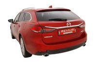 REMUS Sportauspuff Mazda 6 Limousine u. Sport Combi Typ GJ ab Bj. 13 2.2CD - 1x120x74mm rechts links