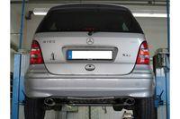 FOX Duplex Mercedes A-Klasse 168 Endrohrsystem rechts/links für original Endschalldämpfer - 106x71 Typ 32 rechts/links Bild 4