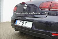 FOX Sportauspuff VW Golf 6 Cabrio - 1x90 Typ 13 Bild 6