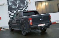 FRIEDRICH MOTORSPORT Duplex Sidepipe Komplettanlage 70mm Gruppe A Ford Ranger 2AB ab Bj. 2012 Heckantrieb und Allrad - Endrohrvariante frei wählbar Bild 3