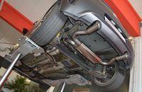FRIEDRICH MOTORSPORT Duplex Komplettanlage 70mm Opel Corsa D OPC Nürburgring Edition ab Bj. 2011 - Endrohrvariante frei wählbar Bild 6