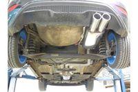 FOX Sportauspuff Ford Fiesta 7 ST 1,6l 134kW - 2x90 Typ 12 Bild 8
