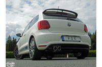 FOX Sportauspuff VW Polo 6R - WRC 2.0l 162kW - 63.5mm - 2x90 Typ 16 Bild 5