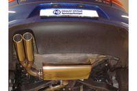 FOX Sportauspuff VW Eos 1F Facelift 1.4l TSI 90/118kW - 2x80 Typ 16 Bild 4