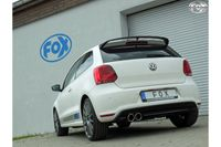 FOX Komplettanlage VW Polo 6R - WRC 2.0l 162kW - 63.5mm - 2x90 Typ 16