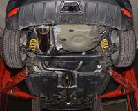 FRIEDRICH MOTORSPORT Komplettanlage 70mm mittig Seat Ibiza 6J SC Cupra 1.4l TSI 132kW 3-Türer ab Bj. 2009 Schrägheck Bild 2