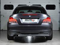 MILLTEK PERFORMANCE Komplettanlage BMW 1er E82 135i Coupe - Endrohrvariante Twin GT80