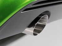 MILLTEK PERFORMANCE Komplettanlage Opel Corsa D 1.6l Turbo OPC Nürburgring Edition - Endrohrvariante 1x GT90 rund poliert Bild 2