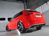 MILLTEK PERFORMANCE Komplettanlage Audi RS3 (8P) Quattro - Endrohrvariante Twin 90mm GT