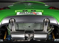 MILLTEK PERFORMANCE Duplex Komplettanlage Opel Corsa D 1.6l Turbo OPC Nürburgring Edition  - Endrohrvariante 2 x GT100 Bild 3