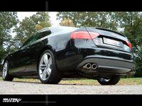 MILLTEK PERFORMANCE Duplex Komplettanlage Audi S5 Coupe 4.2 V8 quattro - Endrohrvariante Twin 2 x 80mm Jet