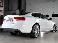 MILLTEK PERFORMANCE Duplex Komplettanlage Audi S5 Sportback 3.0l TFSI quattro - Endrohrvariante Ceramic Black Oval
