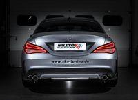 MILLTEK PERFORMANCE Duplex Komplettanlage Mercedes Benz CLA (C117) , CLA 250 - Endrohrvariante 80mm GT