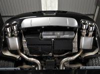MILLTEK PERFORMANCE Duplex Komplettanlage ab Katalysator Porsche Panamera 4.8 Turbo S - Endrohrvariante Quad 100mm GT100 Bild 3