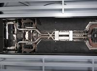 MILLTEK PERFORMANCE Duplex Komplettanlage ab Katalysator Porsche Panamera 4.8 Turbo - Endrohrvariante Quad 100mm GT100 schwarz Bild 4