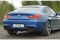 FOX Duplex Sportauspuff BMW 6er F12/F13 649i M-Paket - ohne Endrohre Bild 3