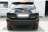 FOX Duplex Sportauspuff Lexus RX 300/350 XU3 - 140x90 Typ 32 rechts/links Bild 3