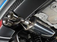 MILLTEK PERFORMANCE Komplettanlage ab Kat. Audi A1 8X 1.4l TFSI S tronic - Endrohrvariante GT80 Bild 3