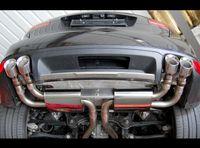 MILLTEK PERFORMANCE Duplex Komplettanlage ab Kat. Porsche Cayenne 92A/958 4.8l Turbo - Endrohrvariante 4x100 GT Bild 2