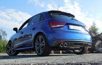 FOX Duplex Sportauspuff Audi S1 2.0l 170kW Quattro - 2x90 Typ 12 rechts/links