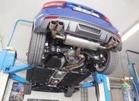FOX Duplex Sportauspuff Audi S1 2.0l 170kW Quattro - 2x90 Typ 12 rechts/links Bild 4
