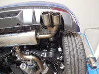 FOX Duplex Sportauspuff Audi S1 2.0l 170kW Quattro - 2x90 Typ 12 rechts/links Bild 5