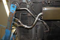 FOX Sidepipe Sportauspuff Komplettanlage VW T4 2.5l TDI 11kW Ausgang Fahrerseite - 2x106x71 Typ 38 Bild 6