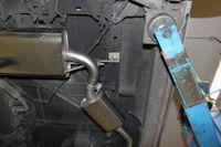 FOX Sidepipe Sportauspuff Komplettanlage VW T4 2.5l TDI 11kW Ausgang Fahrerseite - 2x106x71 Typ 38 Bild 7