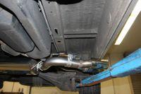 FOX Sidepipe Sportauspuff Komplettanlage VW T4 2.5l TDI 11kW Ausgang Fahrerseite - 2x106x71 Typ 38 Bild 8