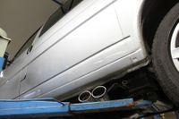 FOX Sidepipe Sportauspuff Komplettanlage VW T4 2.5l TDI 11kW Ausgang Fahrerseite - 2x106x71 Typ 38 Bild 9