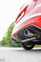 FOX Duplex Sportauspuff Ford Focus 3 S Fließheck 1.6l 110kW - 1x100 Typ 16 rechts/links