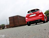 FOX Duplex Sportauspuff Ford Focus 3 S Fließheck 1.6l 110kW - 1x100 Typ 16 rechts/links Bild 4