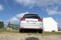FOX Duplex Sportauspuff Opel Vectra C OPC Caravan 2.8l 206kW - 142x78 Typ 61 rechts/links Bild 4