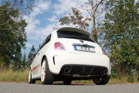 FOX Duplex Sportauspuff Fiat 500 Abarth 1.4l 99kW - 1x100 Typ 25 rechts/links Bild 5