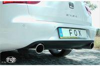 FOX Duplex Sportauspuff Komplettanlage Seat Exeo 3R/ 3R ST 2.0l TFSI 147kW / 155kW - 1x90 Typ 16 rechts/links Bild 5
