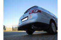FOX Duplex Sportauspuff VW Passat 3C 2.0l 110kW - 1x100 Typ 17 rechts/links Bild 4