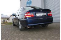 FOX Sportauspuff BMW E46 320  323  328  - 2x76 Typ 10 Bild 2