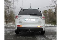 FOX Duplex Sportauspuff Mitsubishi Outlander 3 4WD 2.3l D 110kW - GG/GF - 140x90 Typ 32 rechts/links Bild 2
