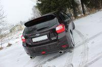 FOX Duplex Sportauspuff Subaru Impreza GP 4x4 1.6l 84kW  - 1x100 Typ 27 rechts/links